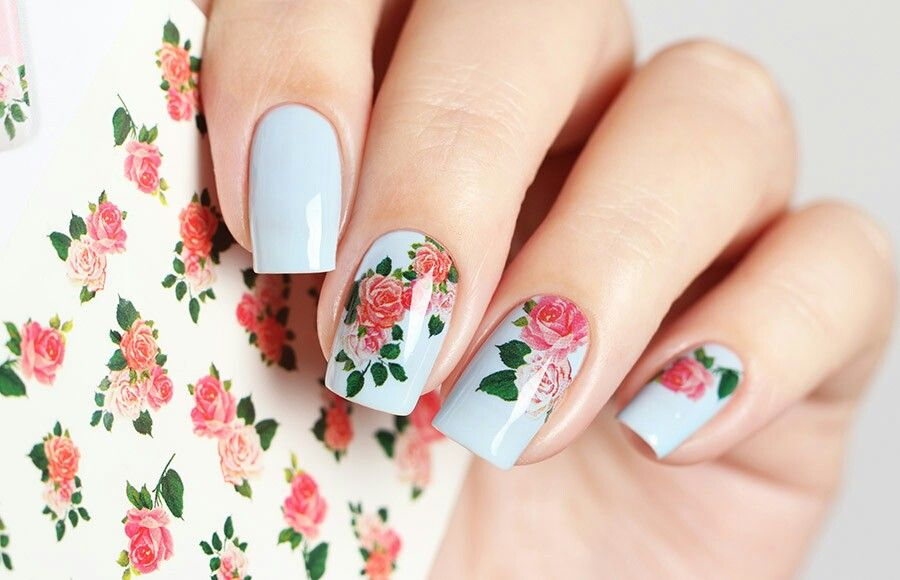 How to glue sliders on your nails