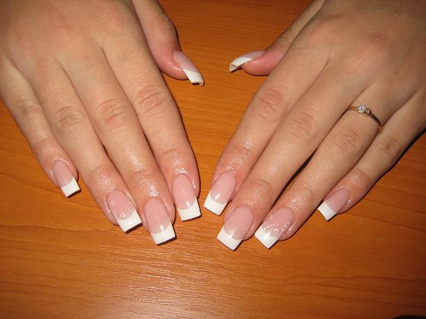 Length of nails for extension