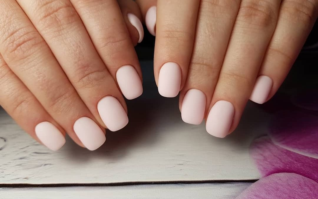 How to make a soft square nail shape