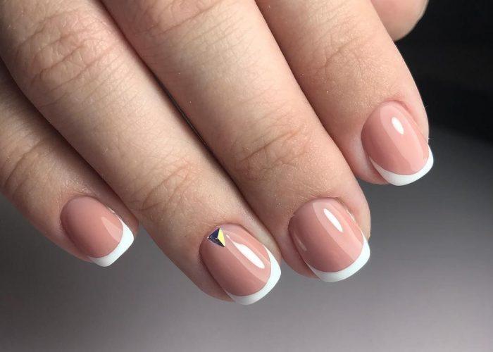 наращивание на короткие ногти