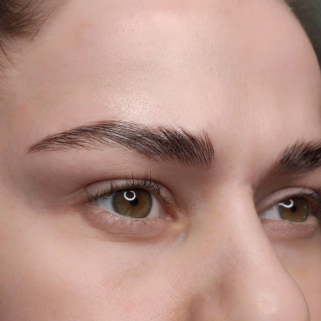 Soap as eyebrow styler