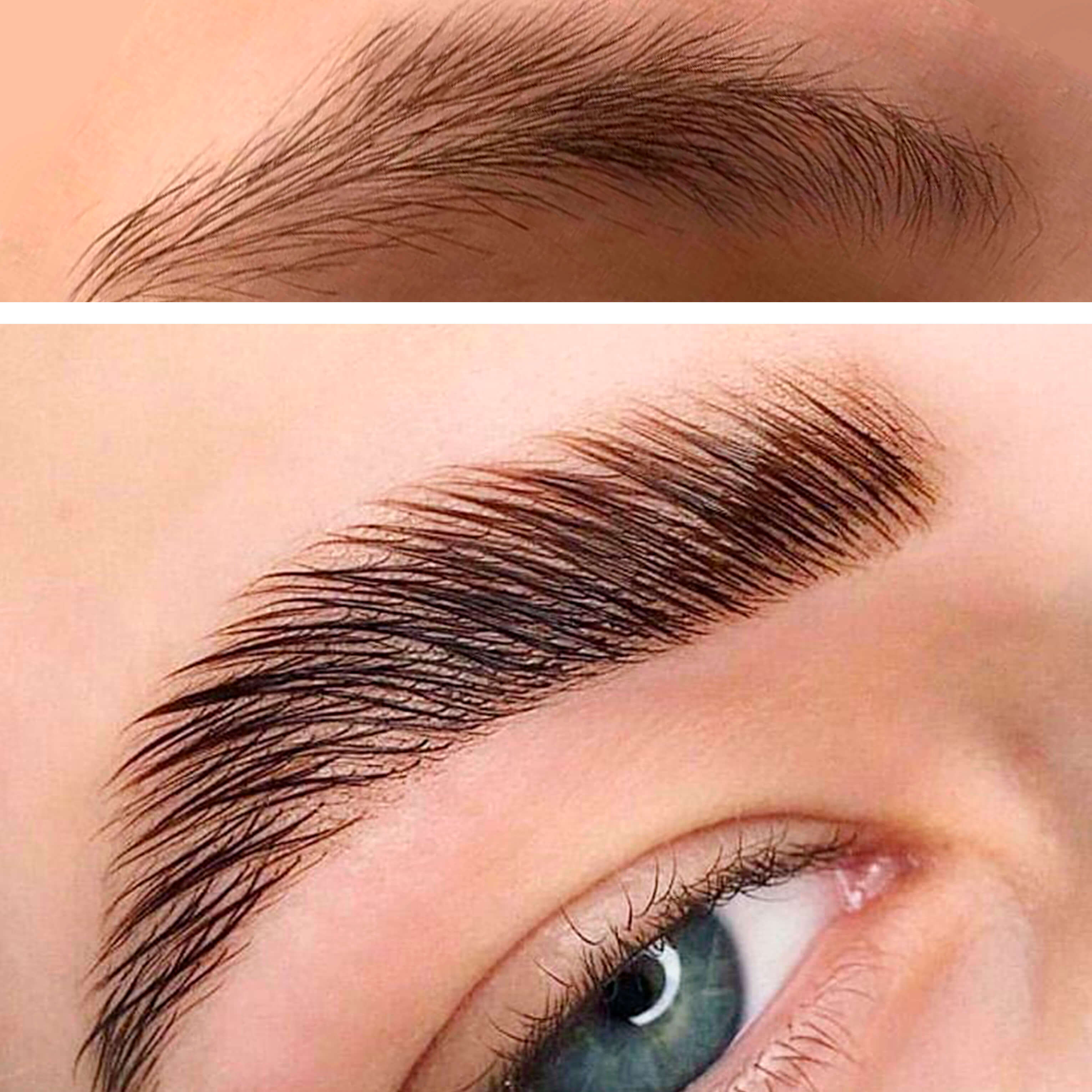 long-term styling of eyebrows