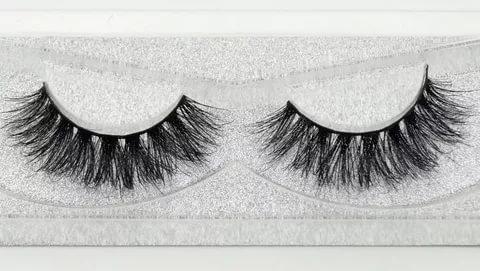 How to glue false eyelashes at home?