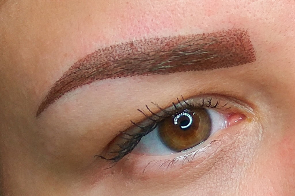 care of eyebrows after permanent make up