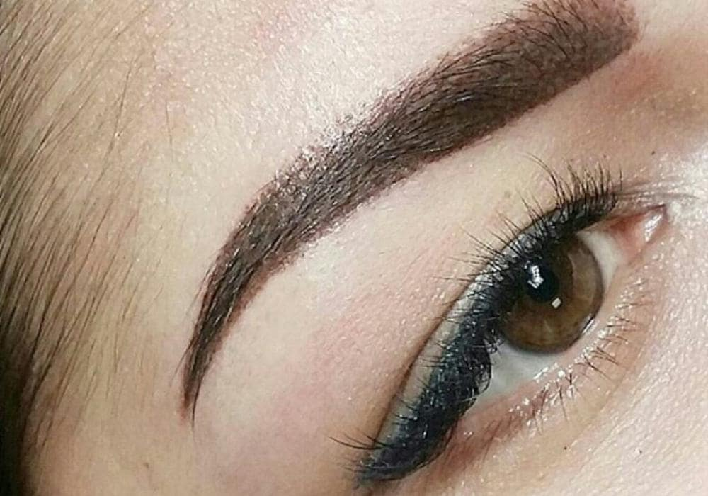 How long does eyebrow permanent make-up last?