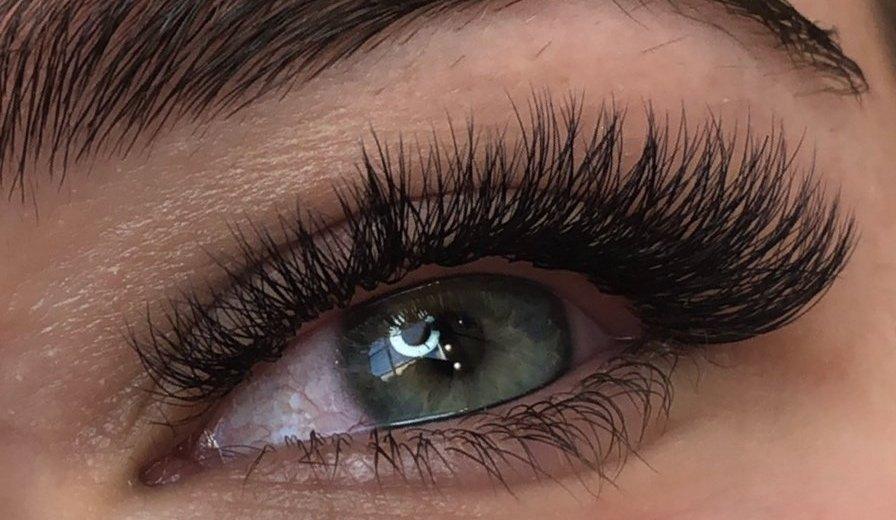 Squirrel eyelash extension effect
